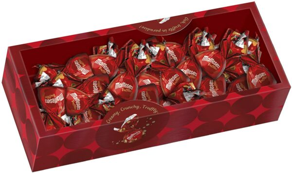 Maltesers Chocolate Truffles, Christmas Gifts, Party Gift Box, 455 g