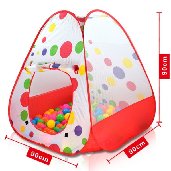 In/Outdoor Play House Toys For Children Ball Pool Star Tent Crawling Toy Play Tent For Kid Gift