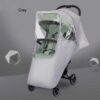 Baby Stroller Rain Cover Transparency Warm Waterproof Windproof Rain Covers Babys Trolley Pushchairs Accessories Dust Shield