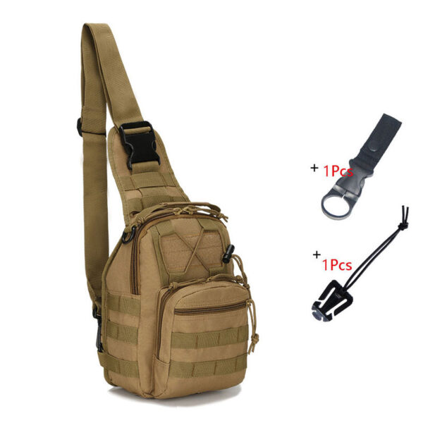 Outdoor Military Bag Climbing Backpack Shoulder Tactical Bag Hiking Camping Hunting Daypack Fishing Sport Camouflage Backpack