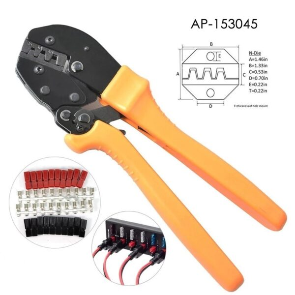 Amp Anderson Cable Crimping Tool AMP15/30/45 Line Clamp High Quality Cable Crimping Tools TC-1 Hand Crimping Tool AP-153045