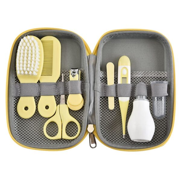 8pcs/set Newborn Baby Nail Clipper Baby Care Kit Higiene Bebe Nail Care Set Safety Cut Baby Nails Manicure Nail Care For Newborn