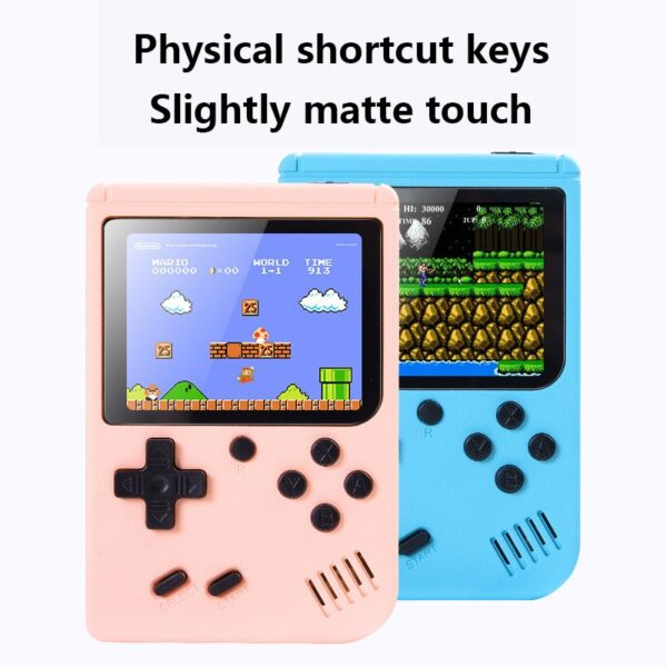 2020 NEW 800 IN 1 Retro Video Game Console Handheld Game Portable Pocket Game Console Mini Handheld Player for Kids Player Gift