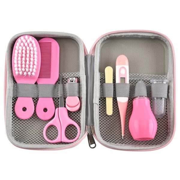 Baby Health Care Kit Newborn Kid Care Baby hygiene Kit Grooming Set Thermometer Clipper Scissor Kid Toiletries for Baby
