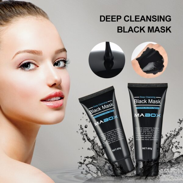 Blackhead Remover Tearing Mask Deep Cleaning Peel Off Masks Oil Control Deep Purifying Charcoal Skin Care Gold & Black Mud Mask