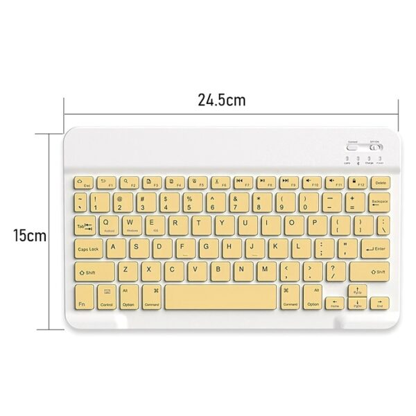 TRAVOR Bluetooth Keyboard Mouse Sets Ultra Thin Portable Wireless Keyboard Wireless Mouse For Computer Laptop Tablet Cell phone