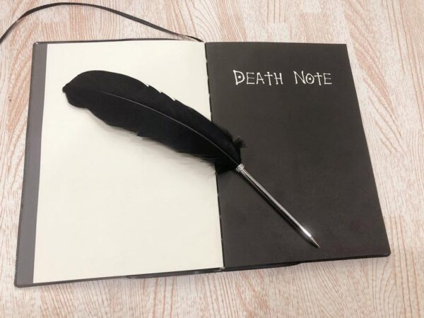 2020 Death Note Planner Anime Diary Cartoon Book Lovely Fashion Notebook Theme Cosplay Large Dead Note Writing Journal Notebook