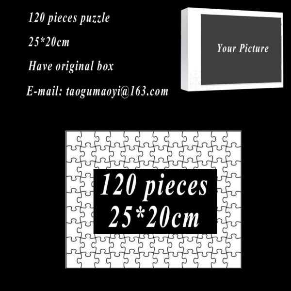 Custom Puzzle 1000 500 300 Pieces Photo Puzzles Personalized Jigsaw Puzzles Picture DIY Puzzle For Adults Gift GYH