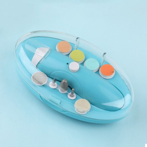 Electric Baby Nail Trimmer USB Charging Kids Infant Baby Cutter Nail Care Baby Trimmer Manicure Clipper Scissors