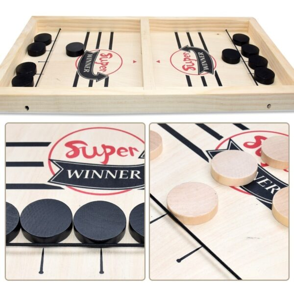 Foosball Winner Games Table Hockey Game Catapult Chess Parent-child Interactive Toy Fast Sling Puck Board Game Toys For Children