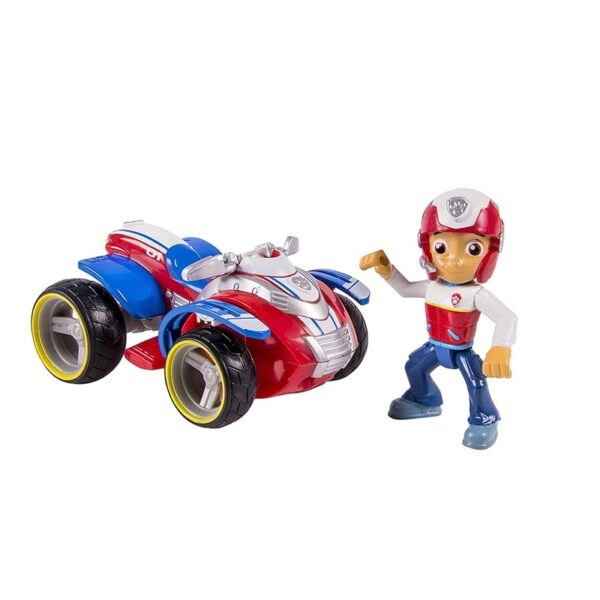 Original SPIN MASTER Kids Toys Game Anime Action Figures Rescue Car Toys PVC Rescue Dog Toys for Children Birthday Gifts for Boy