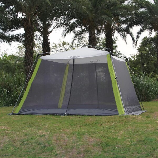 Automatic Speed Open Outdoor Ultralarge Oversized 5-8 Person Use Sun Shelter Beach Tent Large Gazebo Camping Essential Equipment