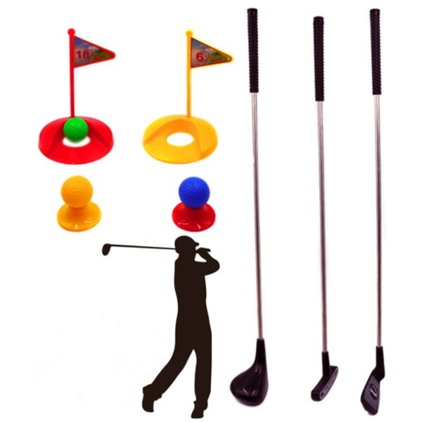 Golf Toy Set Sports For Kids Learning Active Toys Colourful Development Outdoor Play Sport Game For Children