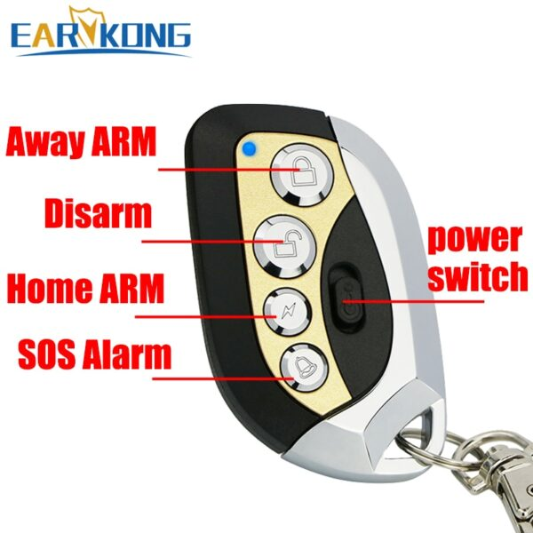 Wifi GSM Alarm System 433MHz Home Burglar Alarm Wireless & Wired Detector RFID TFT Touch Keyboard 11 Languages Compatible Alexa